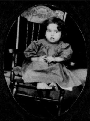 Frank Hylton, at age 3, in 1910.