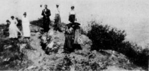 On top of Buffalo Mountain, May 22, 1911.