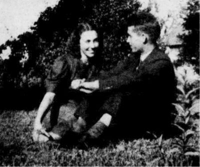 This photo of James and Gladys Matthews was taken in the summer of 1937 on her parents farm in Stokesdale, North Carolina.