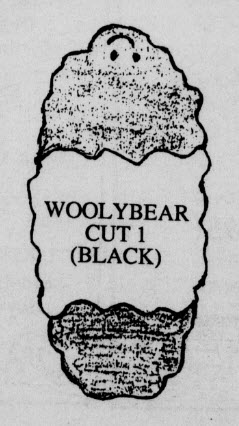 Woolybear - Cut One - Black.