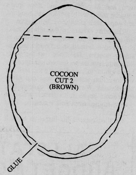 Woolybear - Cocoon - Cut 2 - Brown.