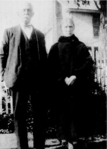 Francis Marion and Alice Gates at their home in Ararat, Virginia, circa 1935. This was the front cover photograph of the April, 1991 edition.